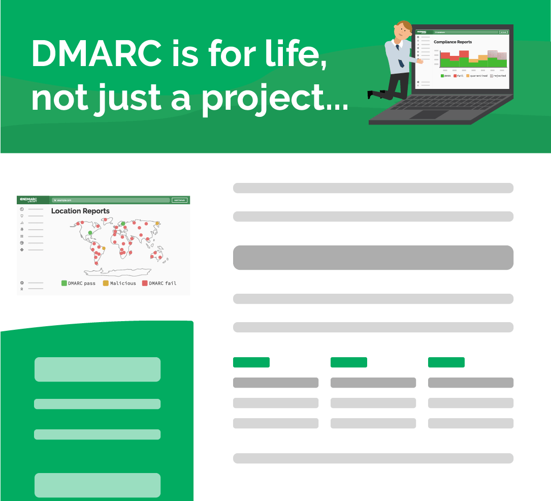 DMARC is for life, not just a project
