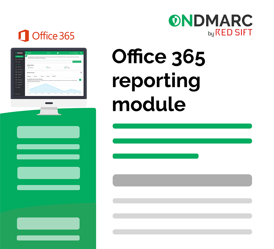 Office 365 reporting for DMARC